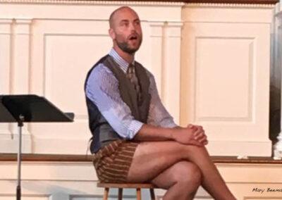 "Schuyler Beeman performing ""Three Bags Full"""